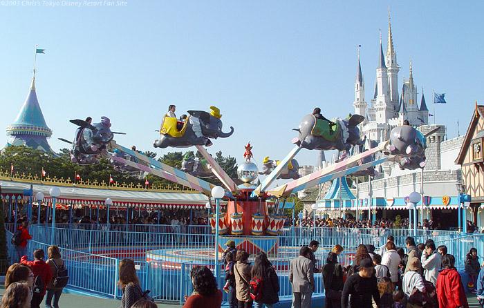 「Dumbo the Flying Elephant tokyo disneyland」の画像検索結果